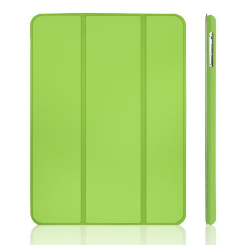 iPad Air Case, JETech Case Cover for Apple iPad Air 2013 Model with Auto Sleep / Wake Feature (Green) - 0462