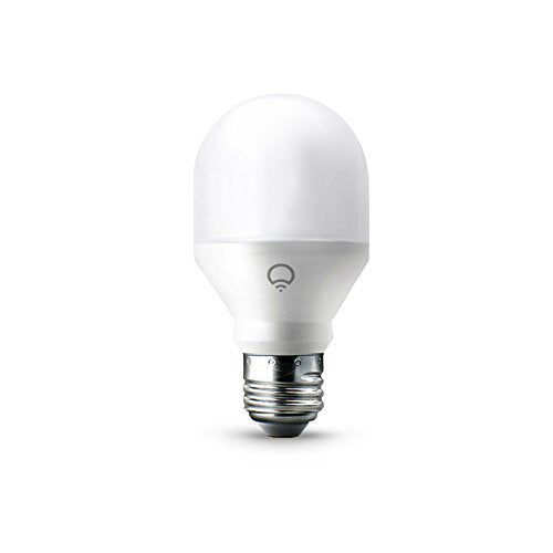 LIFX Mini (A19) Wi-Fi Smart LED Light Bulb, Adjustable, Multicolor, Dimmable, No Hub Required, Works with Alexa, Apple HomeKit and the Google Assistant
