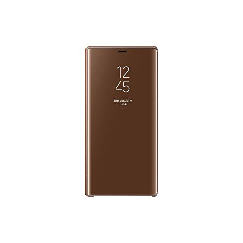 Samsung Official Galaxy Note 9 Case, S-View Flip Cover with Kickstand (Brown)