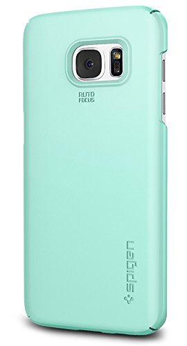 Spigen Thin Fit Galaxy S7 Edge Case with Premium Matte Finish Coating for Samsung Galaxy S7 Edge 2016 - Mint