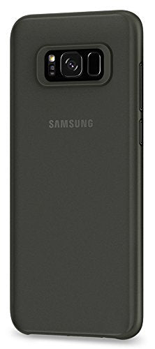 Spigen Air Skin Galaxy S8 Case with Semi-transparent Lightweight Material for Samsung Galaxy S8 2017 - Black