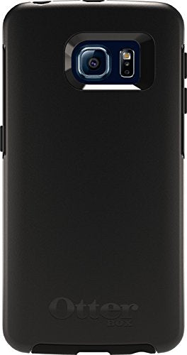 Otterbox Symmetry Series Case for Samsung Galaxy S6 Edge - Retail Packaging - Black