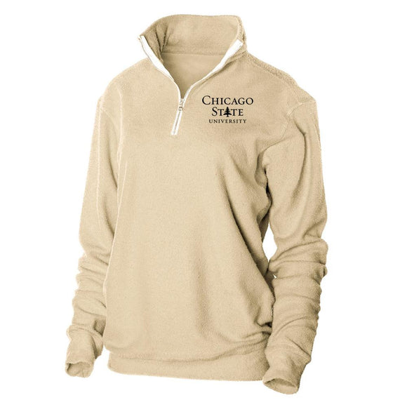 Official NCAA Chicago State University Herrington Fleece 1/4 Zip Up Sweatshirt