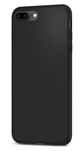 Spigen Liquid Crystal iPhone 8 Plus Case / iPhone 7 Plus Case with Slim Protection and Premium Clarity for Apple iPhone 8 Plus 2017 / iPhone 7 Plus 2016 - Matte Black