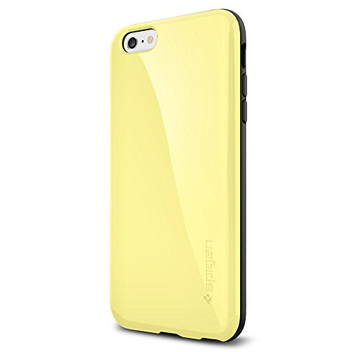 Spigen iPhone 6 Plus Case with Advanced Shock Absorption for iPhone 6S Plus / iPhone 6 Plus - Lemon Yellow