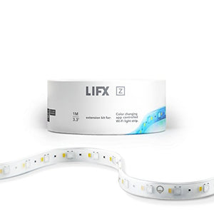 LIFX Z (Extension) Wi-Fi Smart LED Light Strip (1 meter), Multicolor, Dimmable, Works with Alexa, Apple HomeKit and the Google Assistant