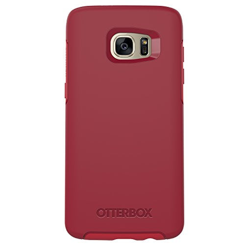 OtterBox Symmetry Series Case for Samsung Galaxy S7 Edge,  Rosso Corsa (Flame Red/Race Red) - Standard Packaging