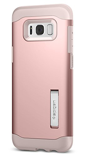 Spigen Slim Armor Galaxy S8 Plus Case with Air Cushion Technology and Hybrid Drop Protection for Galaxy S8 Plus (2017) - Rose Gold