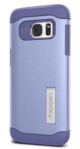 Spigen Slim Armor Galaxy S7 Edge Case with Kickstand and Air Cushion Technology and Hybrid Drop Protection for Samsung Galaxy S7 Edge 2016 - Violet