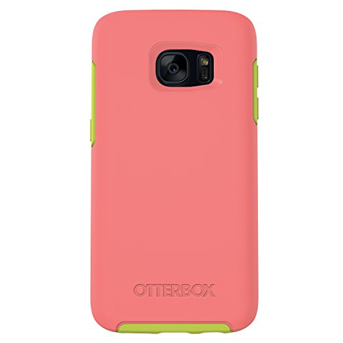 OtterBox SYMMETRY SERIES Case for Samsung Galaxy S7 - Retail Packaging - MELON CANDY (CANDY PINK/CITRON GREEN)