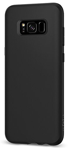 Spigen Liquid Crystal Galaxy S8 Case with Slim Protection and Premium Clarity for Samsung Galaxy S8 (2017) - Matte Black