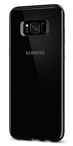 Spigen Ultra Hybrid Galaxy S8 Case with Air Cushion Technology and Hybrid Drop Protection for Samsung Galaxy S8 (2017) - Jet Black