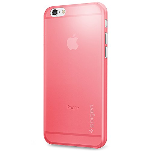 Spigen Air Skin iPhone 6 Case with Semi-transparent Lightweight Material for iPhone 6S / iPhone 6 - Azalea Pink