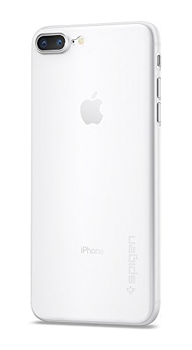 Spigen Air Skin iPhone 7 Plus Case with Semi-transparent Lightweight Material for Apple iPhone 7 Plus 2016 - Soft Clear