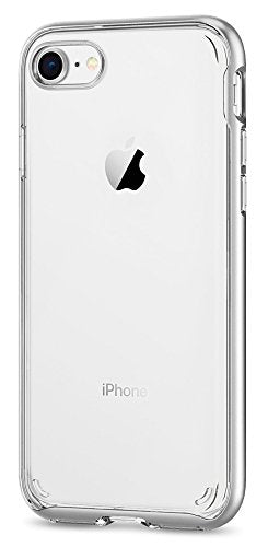 separation shoes 2f13f 695f9 Spigen Neo Hybrid Crystal [2nd Generation] iPhone 8 Case / iPhone 7 Case  with Clear Hard Casing and Reinforced Hard Bumper Frame for Apple iPhone 8  ...