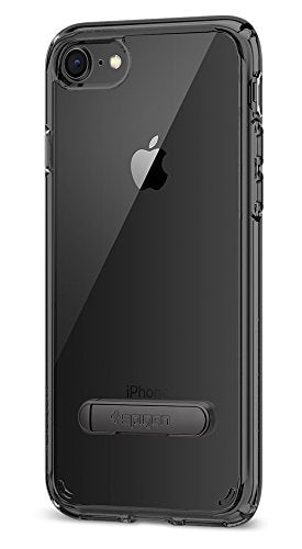 Spigen Ultra Hybrid S [2nd Generation] iPhone 8 Case / iPhone 7 Case with Air Cushion Technology and Magnetic Metal Kickstand for Apple iPhone 8 (2017) / iPhone 7 (2016) - Space Crystal