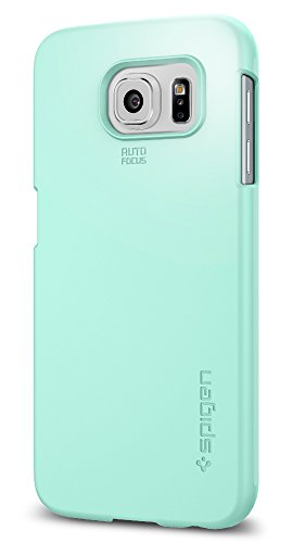 Spigen Thin Fit Galaxy S6 Case with Premium Matte Finish Coating for Galaxy S6 2015 - Mint
