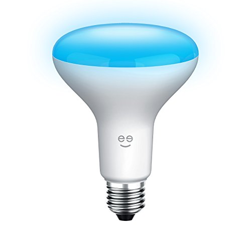 Geeni GN-BW906-999 Prisma Drop BR30 Smart Wi-Fi LED Color Light Bulb, White