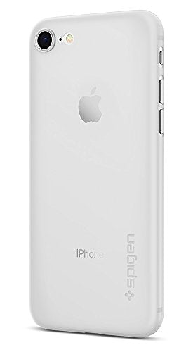 Spigen Air Skin iPhone 7 Case with Semi-Transparent Lightweight Material for Apple iPhone 7 (2016) - Soft Clear