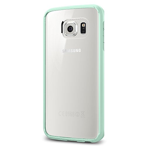 Spigen Ultra Hybrid Galaxy S6 Edge Case with Air Cushion Technology and Hybrid Drop Protection for Galaxy S6 Edge 2015 - Mint