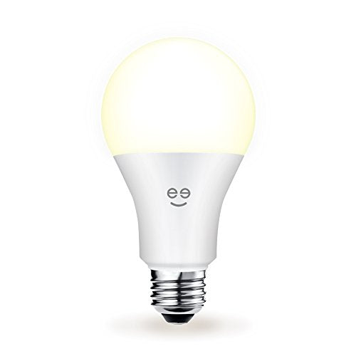 Geeni Lux 1050 A21 Smart Wi-Fi LED Tunable White Light Bulb - 75W Equivalent, No Hub Required, Works with Alexa, Google Assistant & Microsoft Cortana