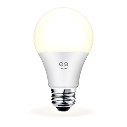 Geeni Lux 800 A19 Smart Wi-Fi LED Dimmable White Light Bulb - 60W Equivalent, No Hub Required, Works with Alexa, Google Assistant & Microsoft Cortana