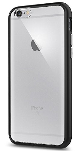 Spigen Ultra Hybrid iPhone 6S Case with Air Cushion Technology and Hybrid Drop Protection for iPhone 6S 2015 - Black