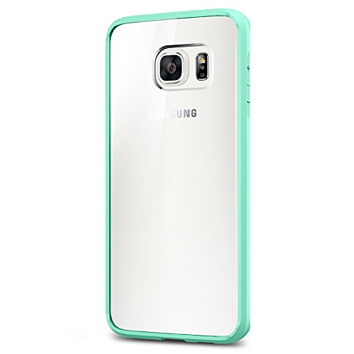 Spigen Ultra Hybrid Galaxy S6 Edge Plus Case with Air Cushion Technology and Hybrid Drop Protection for Galaxy S6 Edge Plus 2015 - Mint
