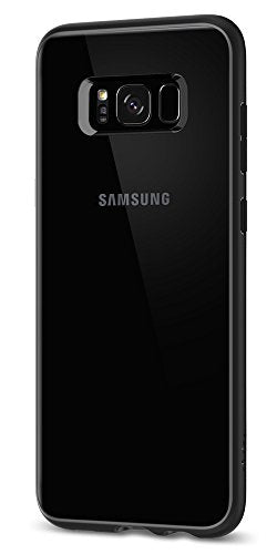 Spigen Ultra Hybrid Galaxy S8 Plus Case with Air Cushion Technology and Hybrid Drop Protection for Galaxy S8 Plus (2017) - Matte Black