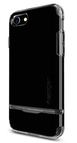 Spigen Flip Armor iPhone 7 Case / iPhone 8 Case with Durable ProtecSpigen Flip Armor iPhone 7 Case with Durable Protection and Hidden Card Storage for Apple iPhone 7 (2016) - Jet Black