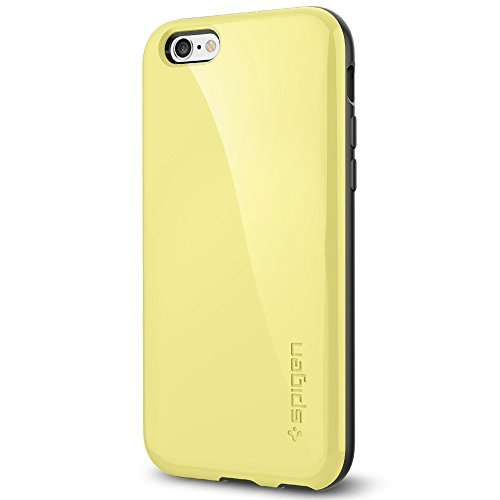 Spigen iPhone 6 Case with Advanced Shock Absorption for iPhone 6S / iPhone 6 - Lemon Yellow