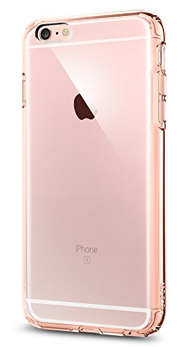 Spigen Ultra Hybrid iPhone 6S Plus Case with Air Cushion Technology and Hybrid Drop Protection for iPhone 6S Plus / iPhone 6 Plus - Rose Crystal