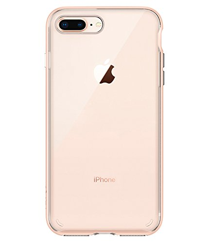 huge selection of 8cef3 34a0c Spigen Neo Hybrid Crystal [2nd Generation] iPhone 8 Plus Case / iPhone 7  Plus Case with Clear Casing and Hard Frame for Apple iPhone 8 Plus (2017) /  ...