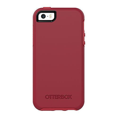 OtterBox SYMMETRY SERIES Case for iPhone 5/5s/SE - Retail Packaging - ROSSO CORSA (FLAME RED/RACE RED)