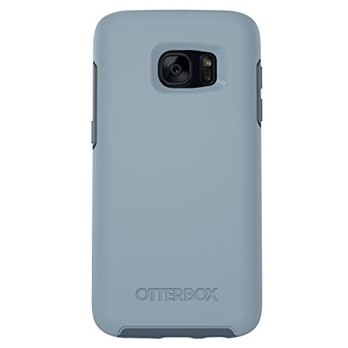 OtterBox SYMMETRY SERIES Case for Samsung Galaxy S7 - Retail Packaging - WHETSTONE WAY (WHETSTONE BLUE/TEMPEST BLUE)