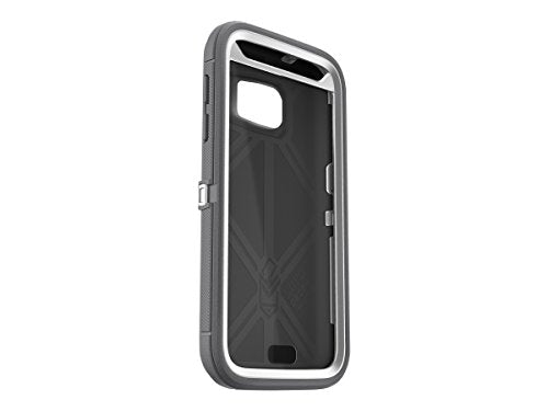 differently 5b151 b8e60 OtterBox DEFENDER SERIES Case for Samsung Galaxy S7 ONLY- Retail Packaging  - GLACIER (WHITE/GUNMETAL GREY)
