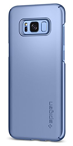 Spigen Thin Fit Galaxy S8 Case with Premium Matte Finish Coating for Samsung Galaxy S8 2017 - Blue Coral