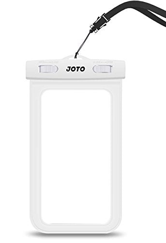 Universal Waterproof Case, JOTO CellPhone Dry Bag Pouch for Apple iPhone 6S 6,6S Plus, 5S 7, Samsung Galaxy S7, S6 Note 5 4, HTC LG Sony Nokia Motorola up to 6.0