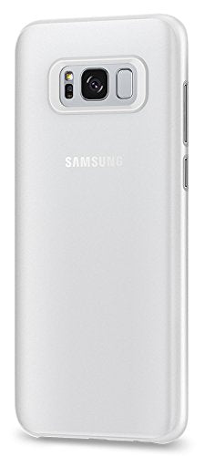 Spigen Air Skin Galaxy S8 Case with Semi-transparent Lightweight Material for Samsung Galaxy S8 (2017) - Soft Clear