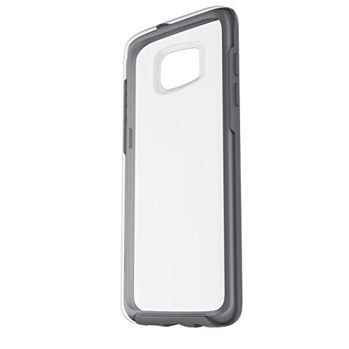 OtterBox Symmetry Series Case for Samsung Galaxy S7 Edge,  Grey Crystal (Clear/Gunmetal Grey) - Standard Packaging