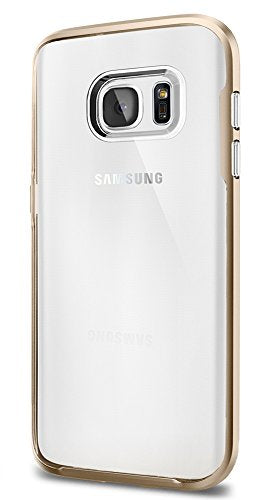 Spigen Neo Hybrid Crystal Galaxy S7 Case with Flexible Inner Casing and Reinforced Hard Bumper Frame for Samsung Galaxy S7 2016 - Champagne Gold