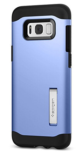 Spigen Slim Armor Galaxy S8 Plus Case with Air Cushion Technology and Hybrid Drop Protection for Galaxy S8 Plus (2017) - Coral Blue