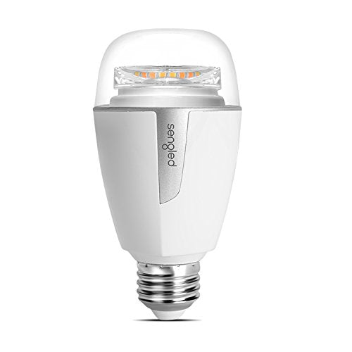 Element Plus by Sengled - 1 Pack - A19 60W Equiv. Tunable White (2700-6500K) Smart LED Light Bulb, Zigbee, Works with Amazon Echo Plus & SmartThings, Hub Required, Works with Alexa & Google Assistant