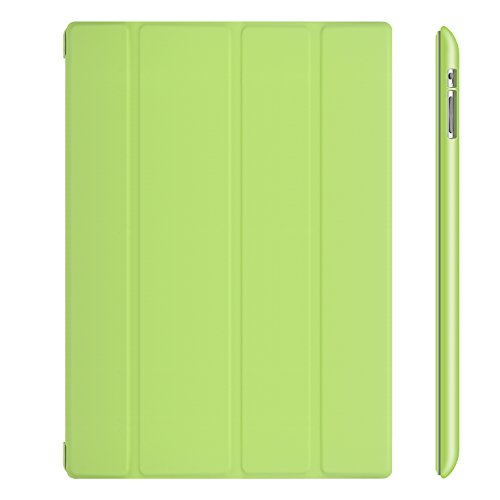 JETech iPad 2/3/4 Case with Back Protection for Apple iPad 4 3 2 with Auto Sleep/Wake (Green) - 0212