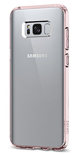 Spigen Ultra Hybrid Galaxy S8 Plus Case with Air Cushion Technology and Hybrid Drop Protection for Galaxy S8 Plus (2017) - Crystal Pink