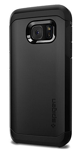 Spigen Tough Armor Galaxy S7 Case with Extreme Heavy Duty Protection and Air Cushion Technology for Samsung Galaxy S7 2016 - Black