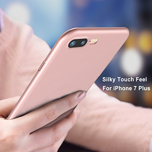 the best attitude a9462 b5788 iPhone 7 Plus Case, iPhone 8 Plus Case, TORRAS Slim Fit Shell Hard Plastic  Full Protective Anti-Scratch Resistant Cover Case for Apple iPhone 7 Plus  ...