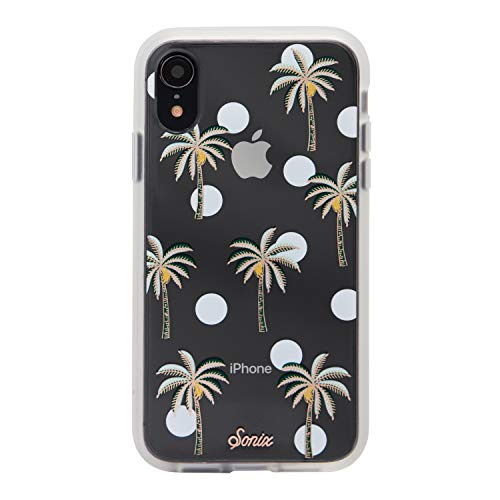 iPhone XR, Sonix Bora Bora (Palm Trees) Cell Phone Case [Military Drop Test Certified] Protective Clear Case for Apple iPhone (6.1