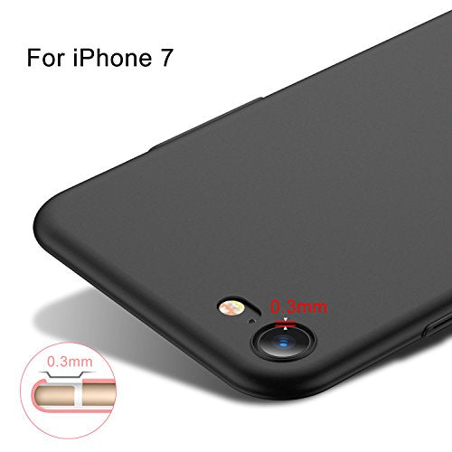 buy online 78c25 a4a4e iPhone 7 Case, TORRAS Slim Fit Shell Hard Plastic Full Protective  Anti-Scratch Resistant Cover Case for Apple iPhone 7 (2016) / iPhone 8  (2017) -Space ...
