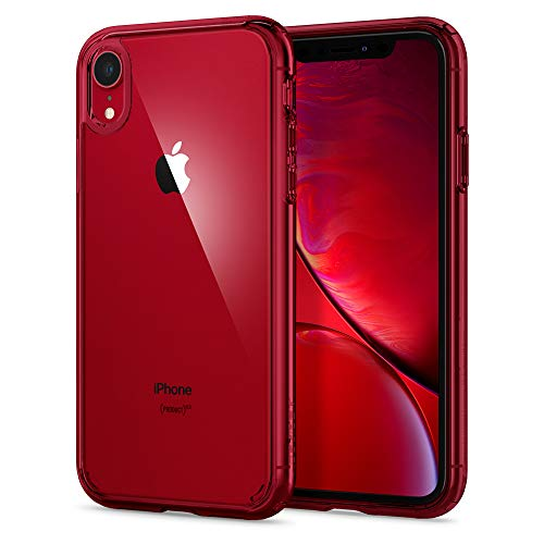 Spigen Ultra Hybrid Designed for Apple iPhone XR Case (2018) - Red
